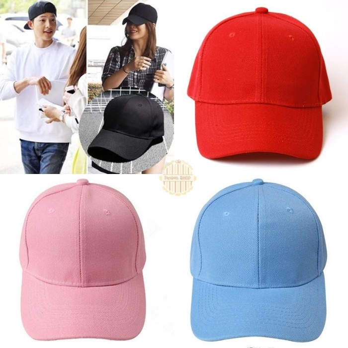 Jual BASEBALL CAP topi basebal tumblr polos pastel kpop korea bts ... 9428853048
