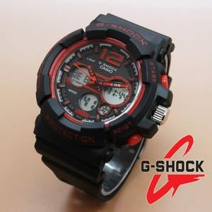 Casio G-Shock GAC-110 (Black Red) || Jam Tangan Cowok Casio