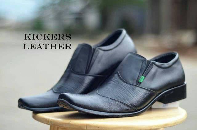 harga Sepatu pria kerja formal kickers pantopel kulit sapi asli Tokopedia.com