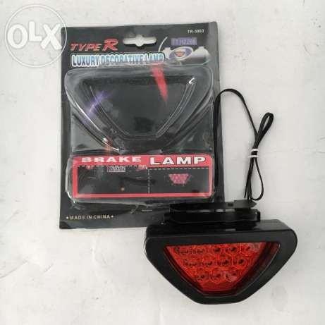 Lampu Rem Stop Segitiga Model F1 / Stop Lamp F1