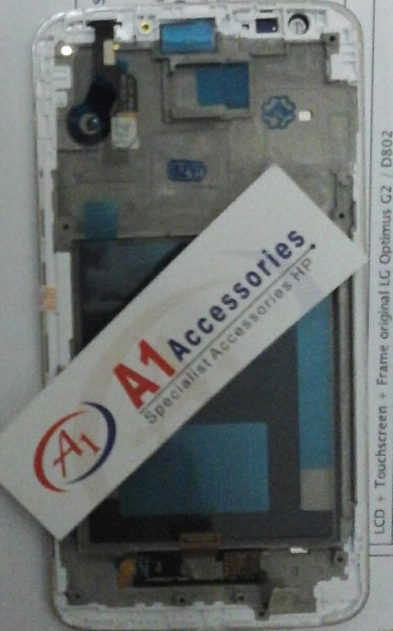 harga Lcd + touchscreen (digitizer) lg g2 / d802 Tokopedia.com