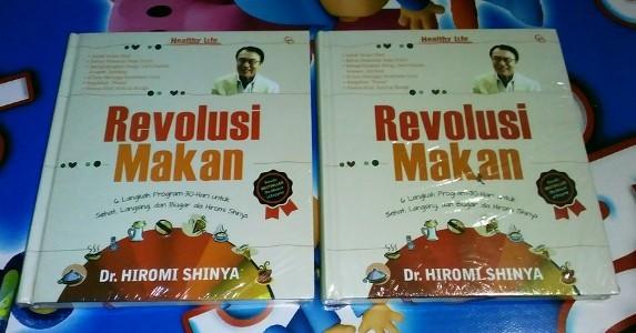 harga Revolusi makan - hiromi shinya, md Tokopedia.com