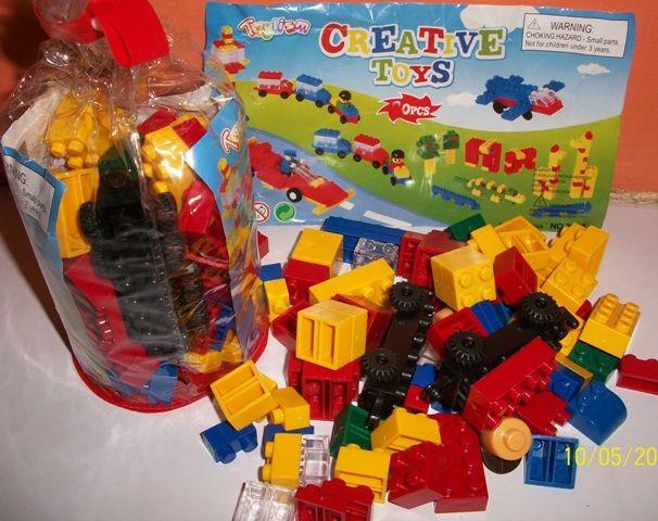 harga Mainan anak murah mainan block creative isi 130 pcs Tokopedia.com