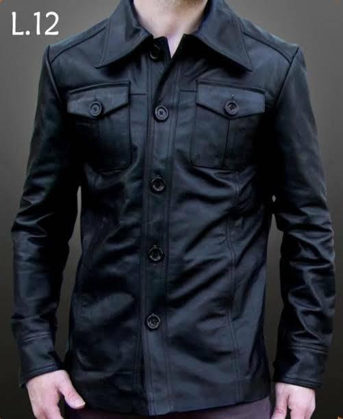 Jual Jaket Kulit Pria Asli Garut Model Safari - Riz Leather Shop ... 896f2fac65