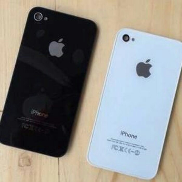 ... Backcover Backcover Iphone 4S Original Tutup Baterai save off 376dd e3e07 ...