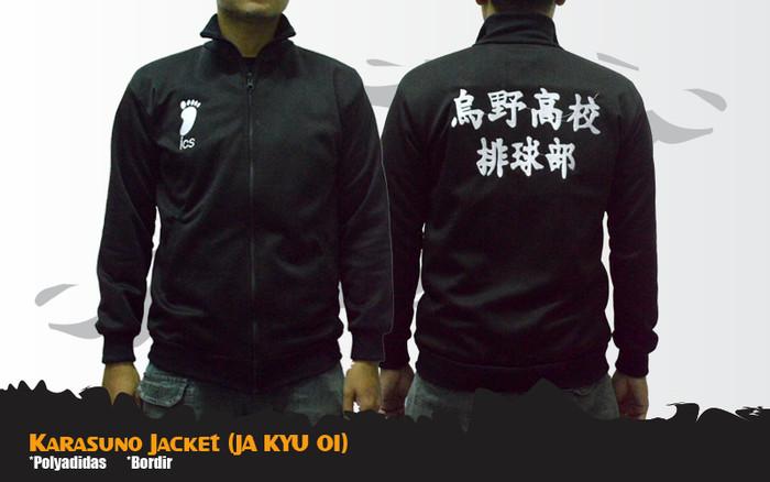 Jual Jaket Anime Haikyuu Karasuno Semi Cosplay Jacket (JA ...