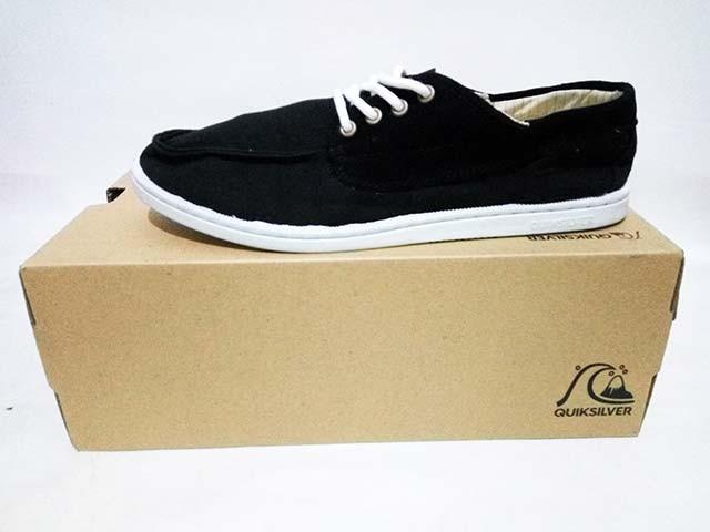 Jual Sepatu Casual QuickSilver Dredge M Shoe Black Original Asli ... f9e642022e