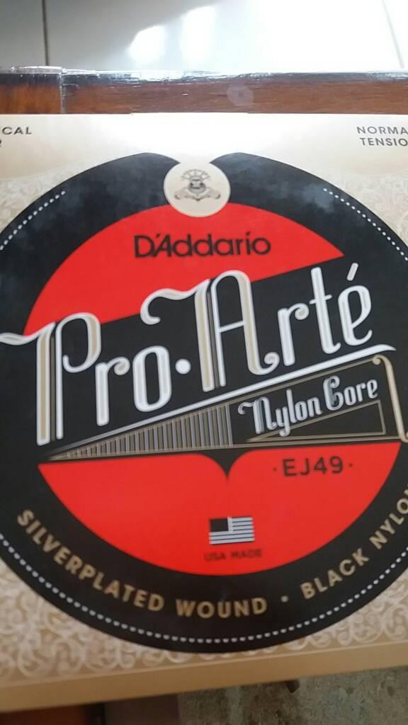 "Foto Produk senar gitar klasik nylon D""Addario ej49 original dari V Musik Central"