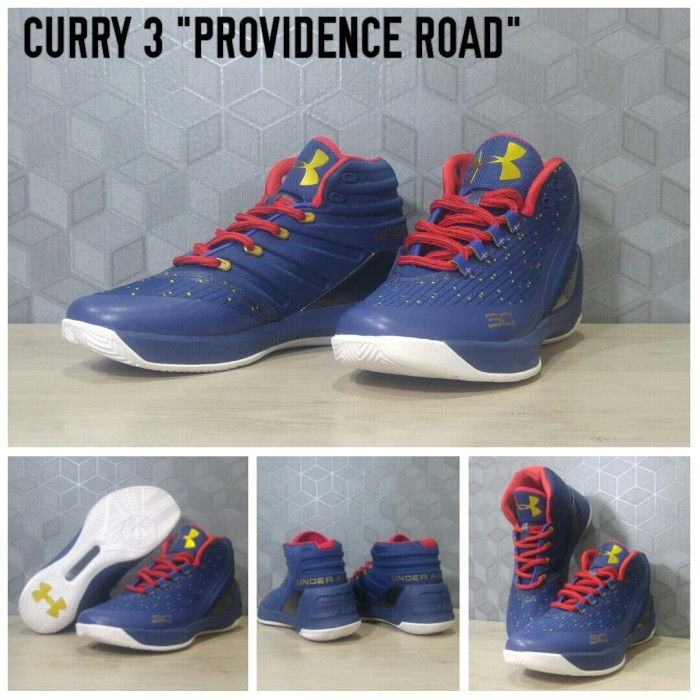 harga Sepatu basket curry 3 privodance road blue / nike / kyrie / lebron Tokopedia.com