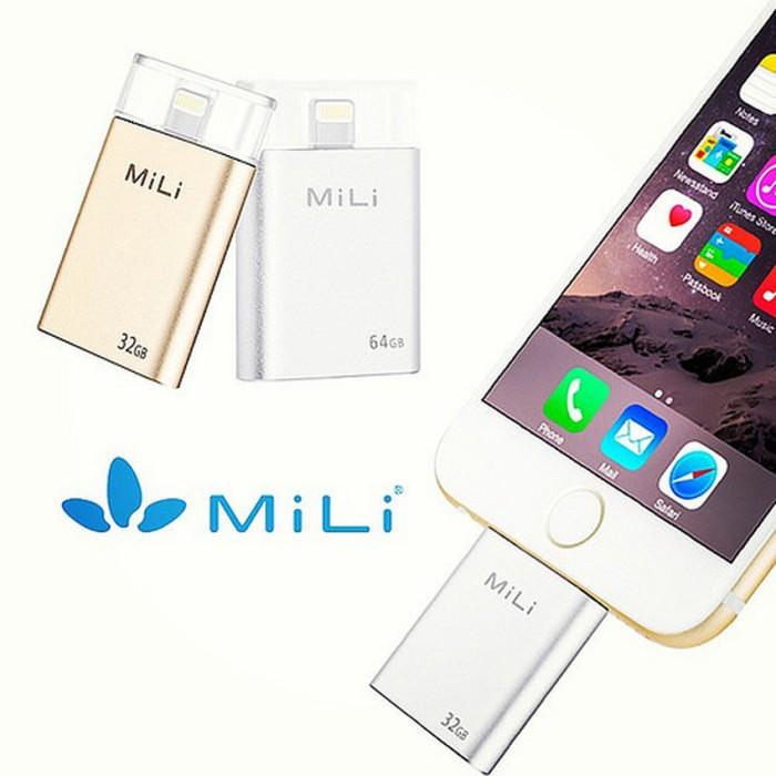 harga Mili idata pro smart flash drive 64 gb- silver Tokopedia.com
