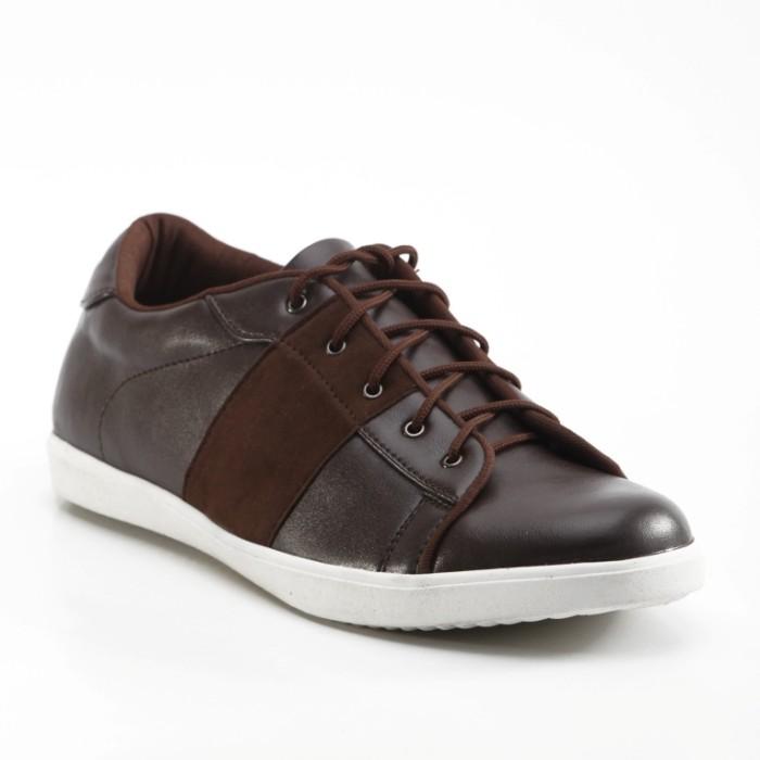 ORIGINAL HEADWAY FOOTWEAR WIN BROWN | SEPATU SNEAKERS PRIA CASUAL
