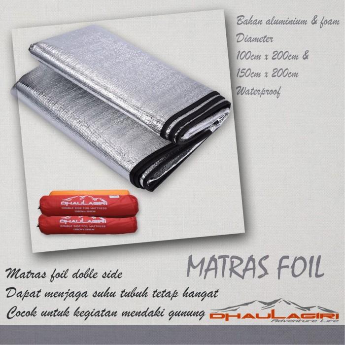 harga Matras foil double side dhaulagiri kecil Tokopedia.com