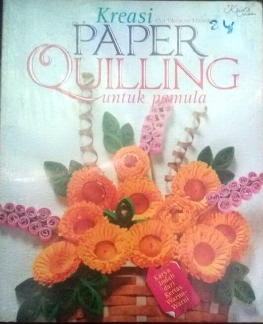 harga Kreasi paper quilling karya indah dari kertas warna-warni Tokopedia.com