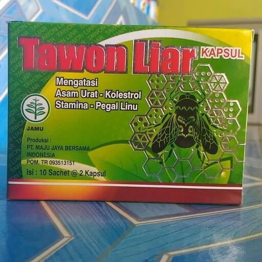 Tawon Liar 2box Kapsul Obat Asam Urat Kolesterol Pegal Linu Source Kapsul Tawon .