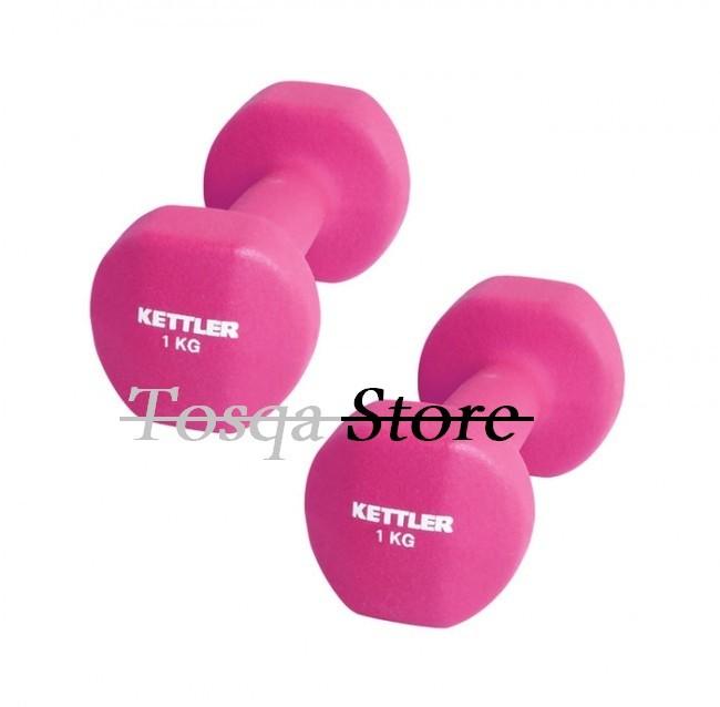 harga Kettler dumbell neoprene 2kg pink / dumbell neoprene (2kg/pair) Tokopedia.com