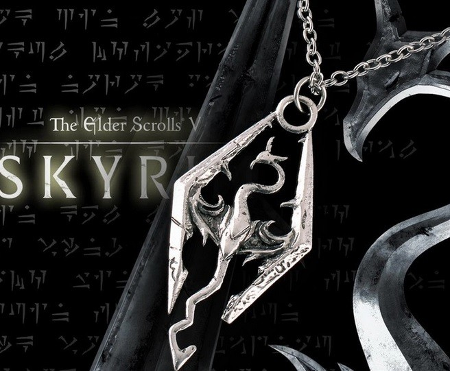 Jual Kalung Skyrim Necklace Skyrim Elder Scrolls Dragon Pendants Vintage -  Kota Depok - SmartStore1 | Tokopedia