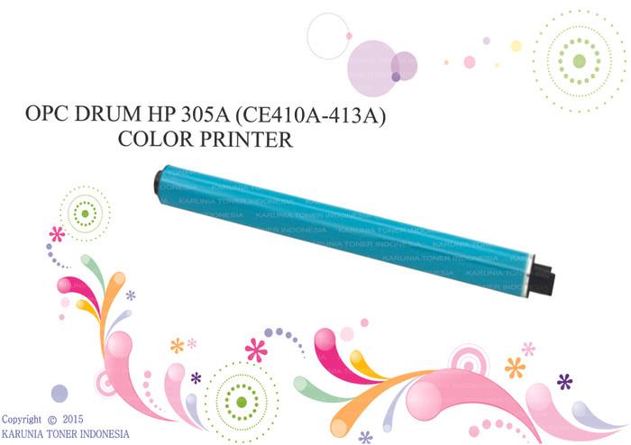 harga Opc drum hp 305a (ce410a-413a) color printer murah Tokopedia.com