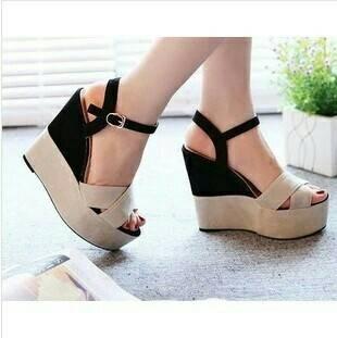 ff94458f71 Jual SALE @ Sandal Sepatu Wedges Santai / Pesta - Kota Tangerang ...