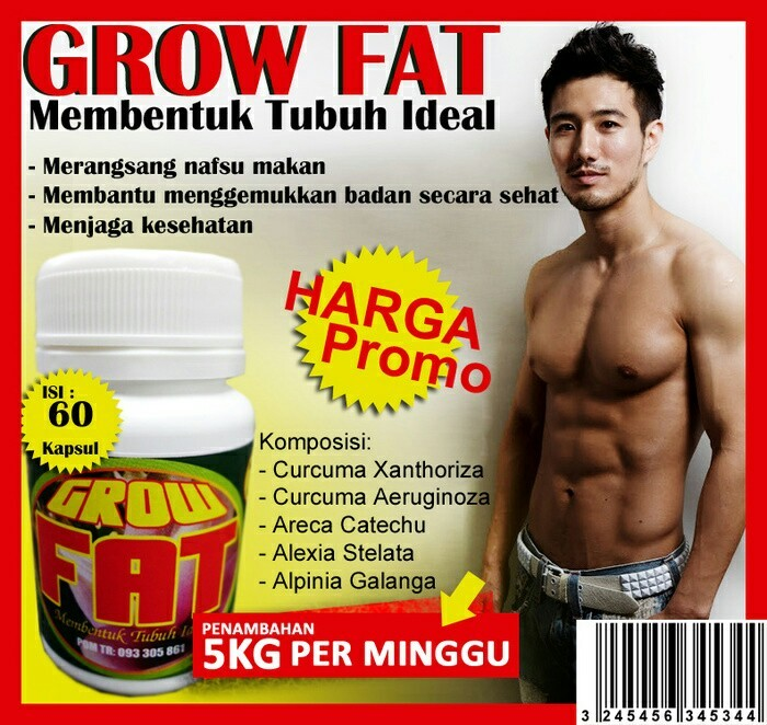 jual obat gemuk pembentuk massa otot grow fat naga cosmetik murah