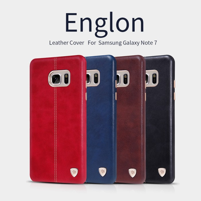 harga Nillkin englon leather case for samsung galaxy note 7 Tokopedia.com