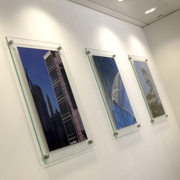 Acrylic Frameless Wall Frames