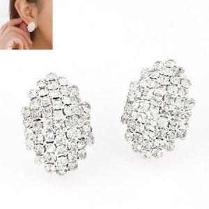 Na526 anting korea import modis crystall women earrings anting elegan