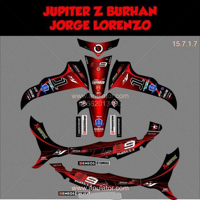 80+ Gambar Modifikasi Jupiter Z Hitam Paling Keren