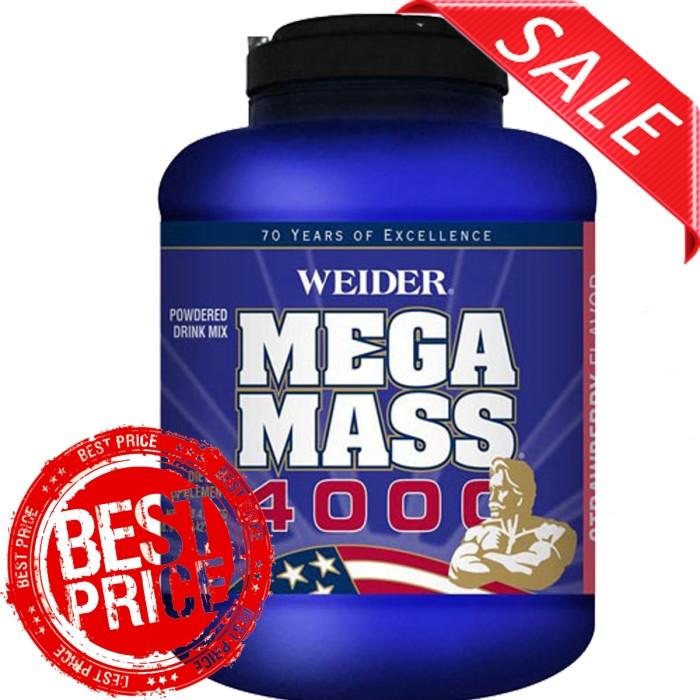 harga Weider mega mass 4000 8,9lb garansi original & termurah Tokopedia.com
