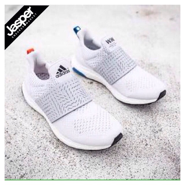 7de81987b84c1 Jual Adidas x Wood Wood Ultra Boost Uncaged - Slip On White - Kota ...
