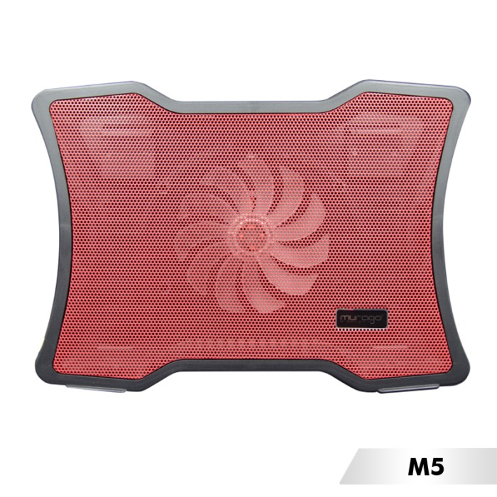 COOLING PAD MURAGO M-5/COOLER FAN/COOLPAD/cooler pad