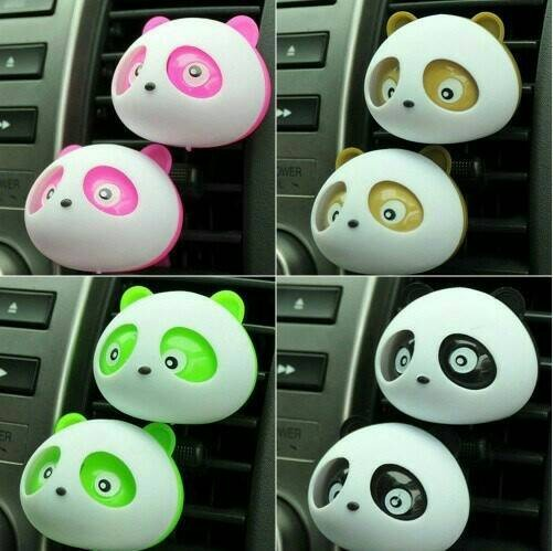 PARFUM PENGHARUM MOBIL ( Karakter Kepala Panda )