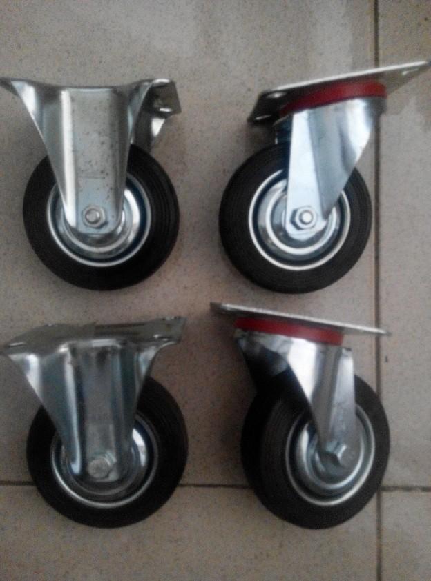 harga Kaki roda etalase / gerobak dorong karet set 4 in (1set 4 roda) Tokopedia.com