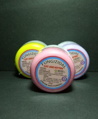 harga Fungizidal cat & kitten 20gram - cream anti fungal kucing Tokopedia.com