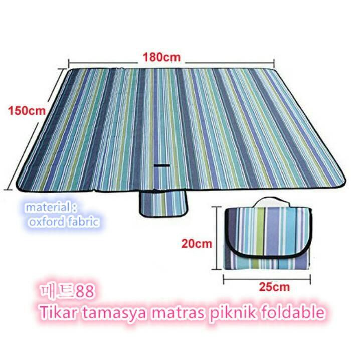 harga Matras piknik foldable tikar piknik lipat Tokopedia.com