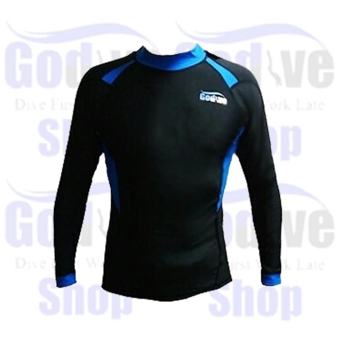 harga Alat selam godive diving & snorkeling long sleeve rash guard sl-022 Tokopedia.com