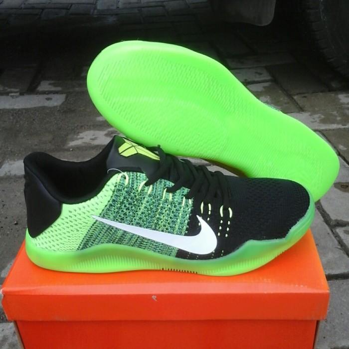... discount murah sepatu basket pria nike kobe xi elite kobe 11 flyknit  hijau 0c4d3 0bb6e 4e3ccd31e0