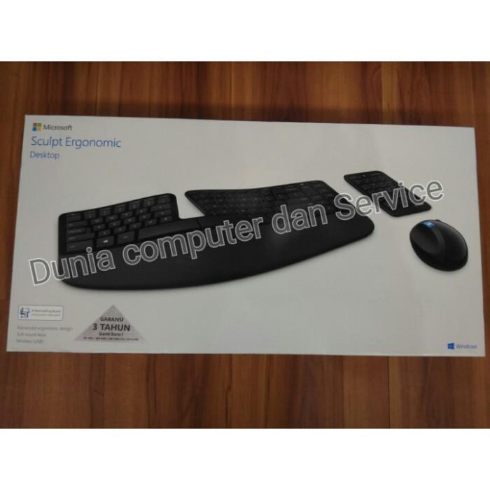 harga Microsoft sculpt ergonomic desktop usb [l5v-00027] Tokopedia.com