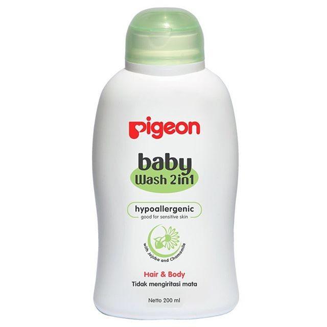 harga Pigeon baby wash chamomile hair & body 2in1 bottle - 200ml Tokopedia.com