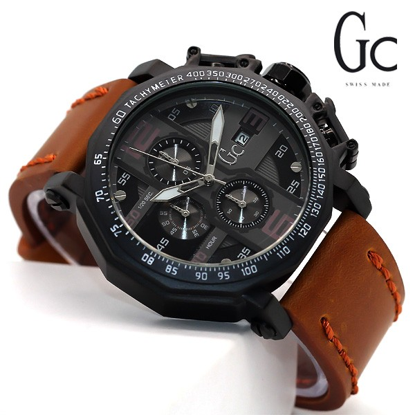 harga Gc jam tangan sport pria/cowok crono tanggal aktif leather brown Tokopedia.com