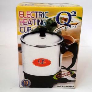 harga Mug gelas teko listrik stainless q2 11cm cangkir pemanas air cupheater Tokopedia.com