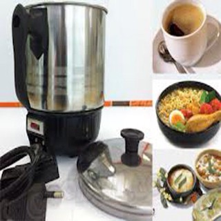 harga Mug gelas teko listrik stainless q2 15cm cangkir pemanas air cupheater Tokopedia.com
