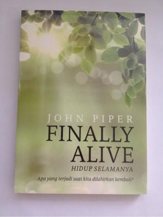 Foto Produk John Piper - Finally Alive dari CV Pionir Jaya