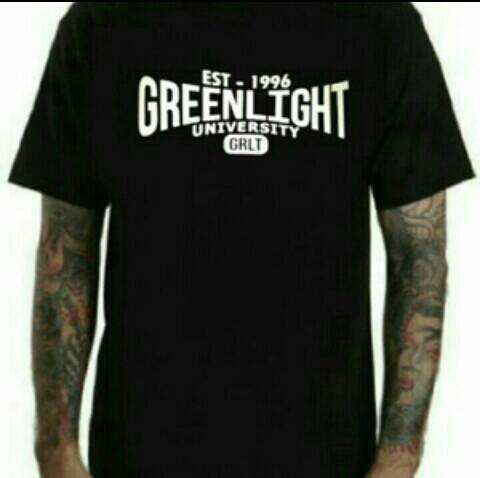 T-shirt / baju / kaos greenlight