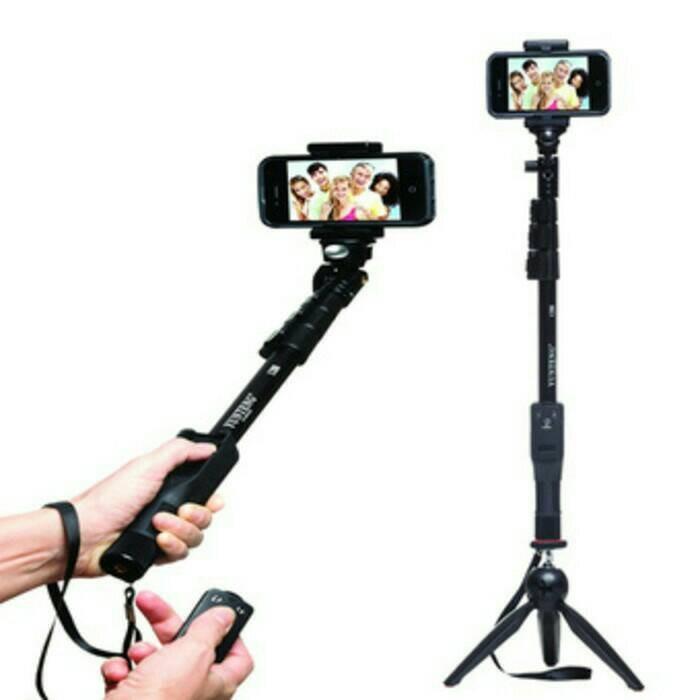 harga Paket selfie yunteng tongsis bluetoot yt-1288 + mini tripod 228 Tokopedia.com
