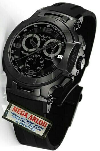 harga Jam tangan cowok/pria tissot t-race moto gp fullblack limited edition Tokopedia.com