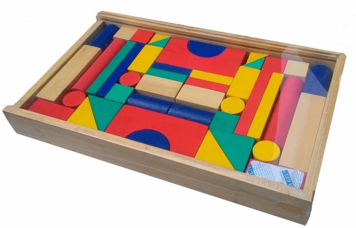 Foto Produk City blok 42s balok bangun besar mainan edukatif edukasi anak SNi kayu dari Edukasi Toys