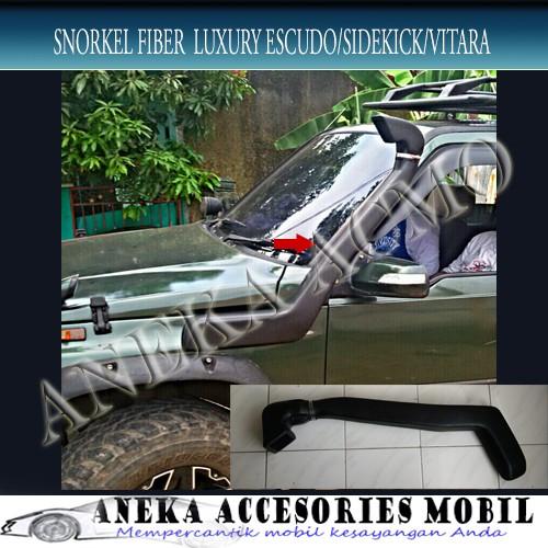 harga Snorkel/snorkle/cerobong asap variasi fiber luxury suzuki vitara Tokopedia.com