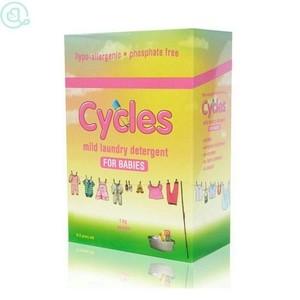 harga Cycles mild laundry detergent  bubuk powder 1kg Tokopedia.com