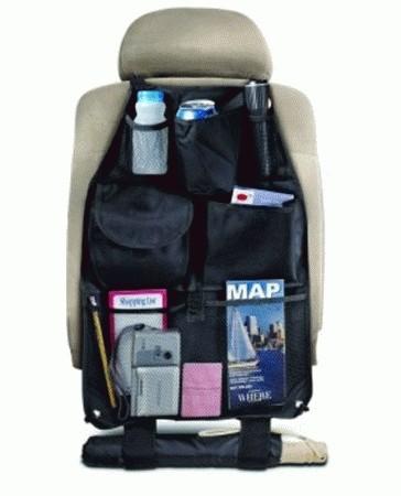 Foto Produk Back Auto Seat Car Organizer Barang rapi di Mobil Black Cars Travel Ok dari BEST SHOP GROSIR