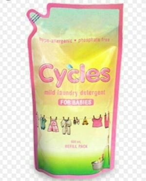 harga Cycles mild laundry detergent liquid refill 800ml Tokopedia.com
